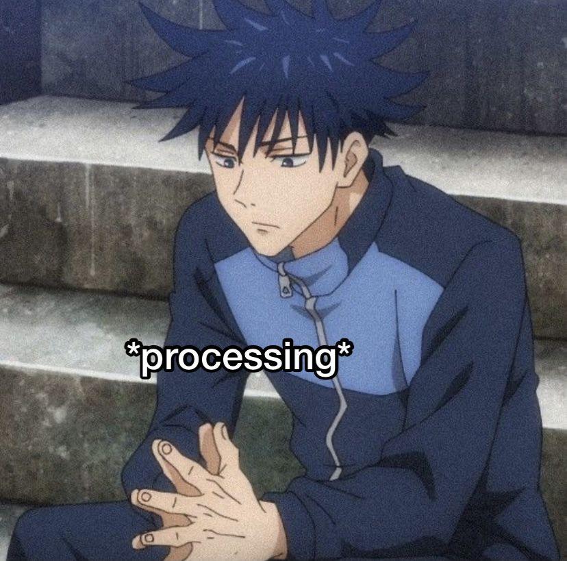 Jujutsu Kaisen React Pics In 2021 Anime Faces Expressions Jujutsu Funny Anime Pics