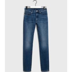 Photo of Gant Skinny Super Stretch Denim Jeans (Blau) GantGant