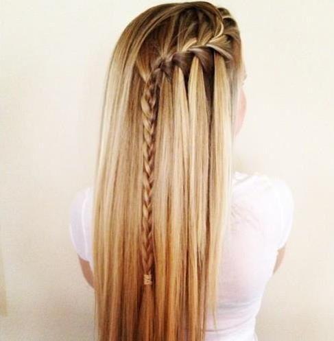 nias hoy traemos algunas ideas de peinado para nias con unas trenzas con flecos donde puedes tener el cabello suelto como te gust - Trenzas Pelo Largo