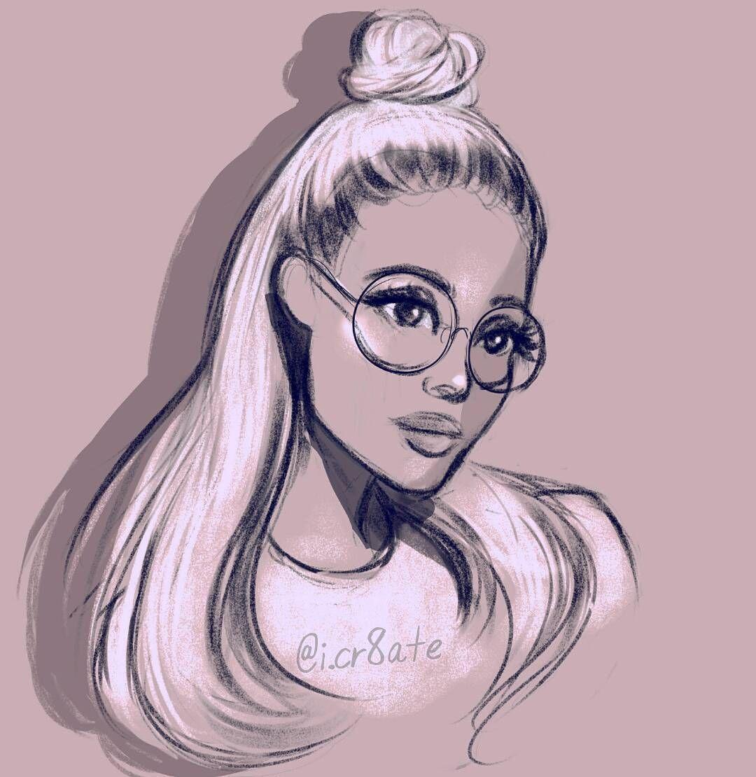Ariana Grande Drawing Sketch