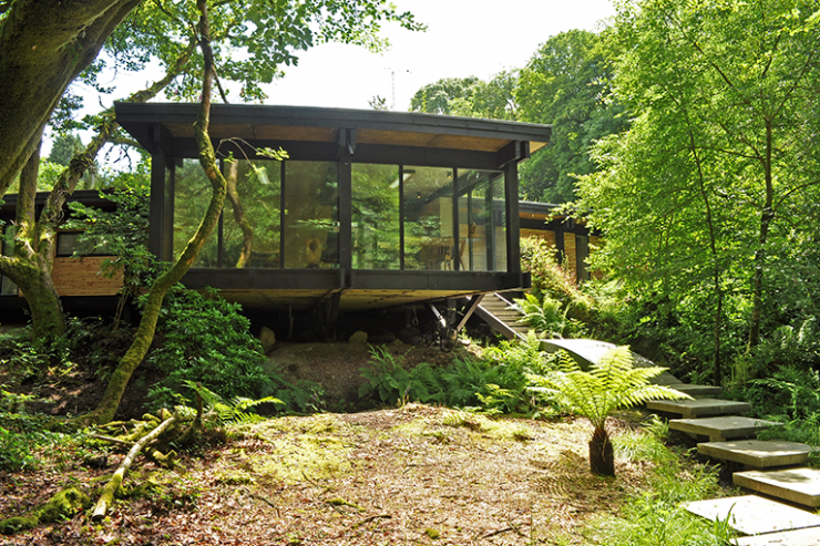 Woodland eco house on a budget affordable sustainable for Affordable eco homes