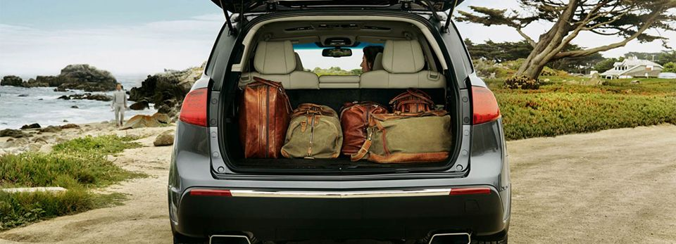 PowerOperated tailgate provides easy access to the