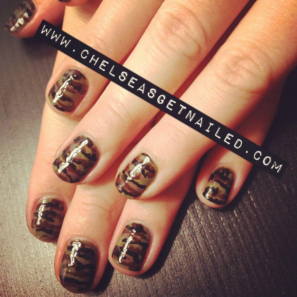 30 fotos de u as decoradas con color marr n brown nails for Decoracion con fotografias
