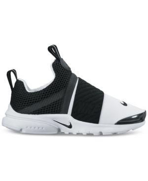 03357746b5d Nike Little Boys  Presto Extreme Running Sneakers from Finish Line -  WHITE BLACK 11