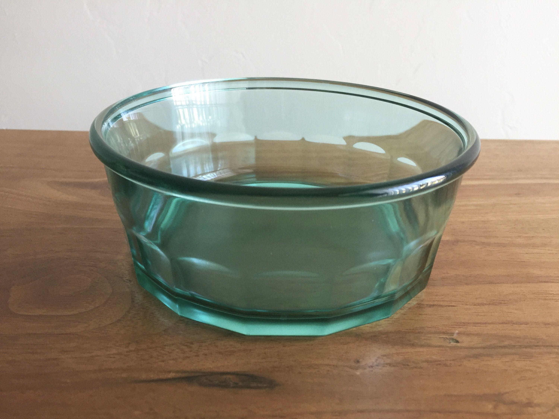 Arcoroc France Turquoise Bowl - Luminarc Working Glass