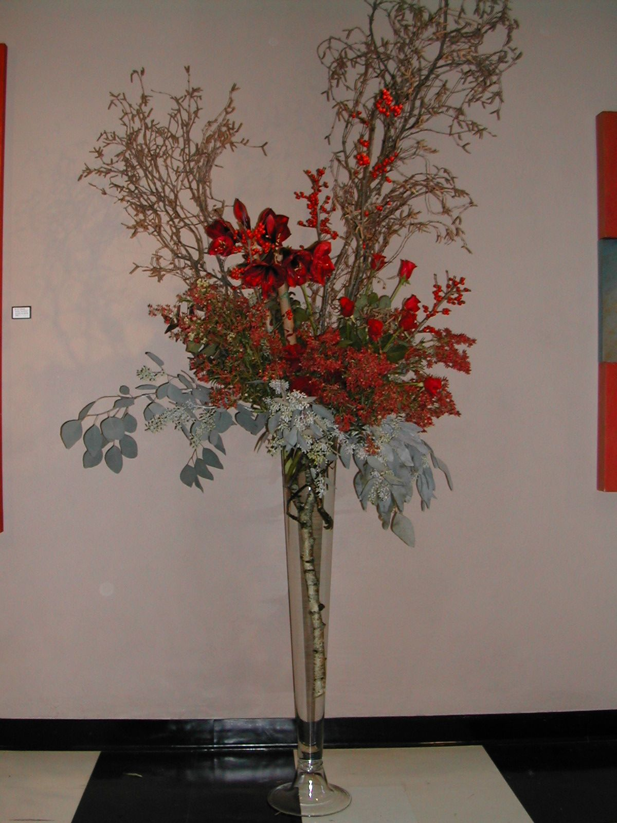 The impact of red (With images) Flowers, Flower designs, Art