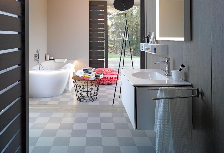 Darling New : la s�rie de salles de bains moderne pour toutes les individualit�s. Lignes harmonieuses & chic intemporel d�finissent la s�rie d�velopp�e par Sieger Design.