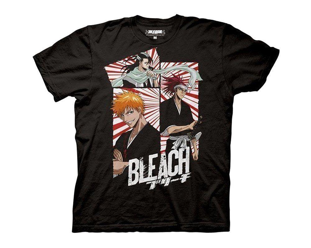 Bleach 3 panel mask ichigo renji byakuya anime