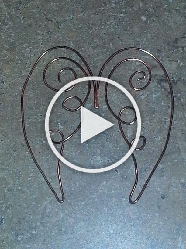 #Angel #bookmark #TwisTed #wings #Wire