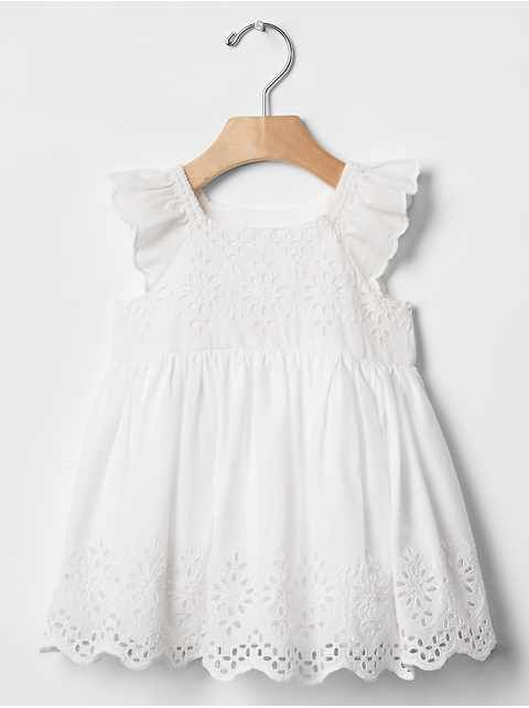 453a0ce1a78d4 Baby Clothing: Baby Girl Clothing: dresses & rompers | Gap | Dressed ...