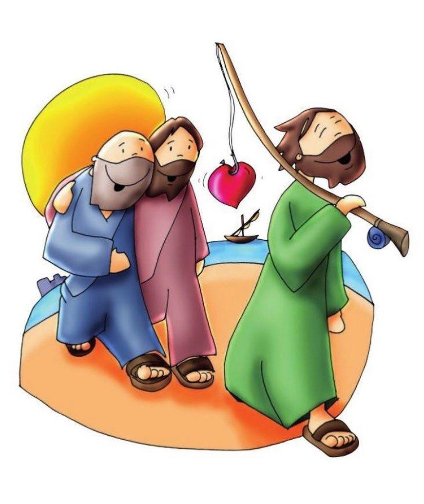 Pin De Mari Salas Em Catolico Pescadores De Homens Biblia Infantil Desenho Jesus