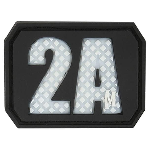 2A Second Amendment Patch, Arid, 1.5 x 1.125