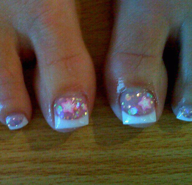 Acrylic toes | Nails | Pinterest