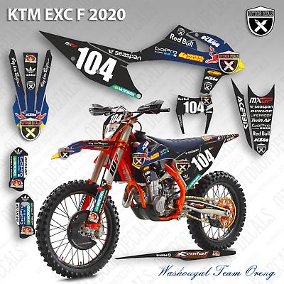 Advertisement Ebay Ktm 150 200 250 300 350 450 500 Exc F Graphics Decals Stickers 2020 Ktm Exc Ktm Ebay