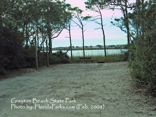 Grayton Beach State Park Campground I Wanna Be There Now