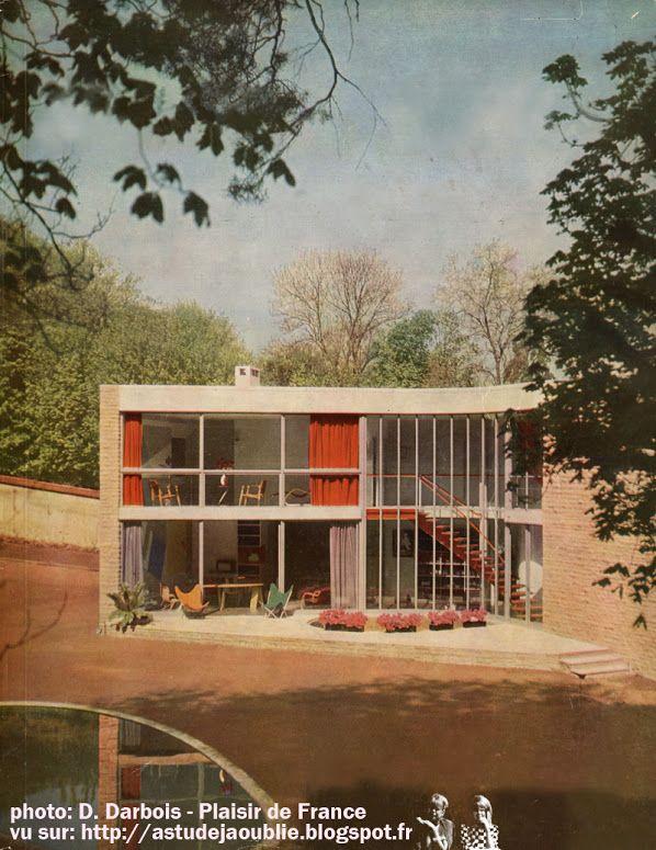 As Tu Deja Oublie 50s 60s 70s Architecture Facade Maison Maison De Vacances Maison Plastique