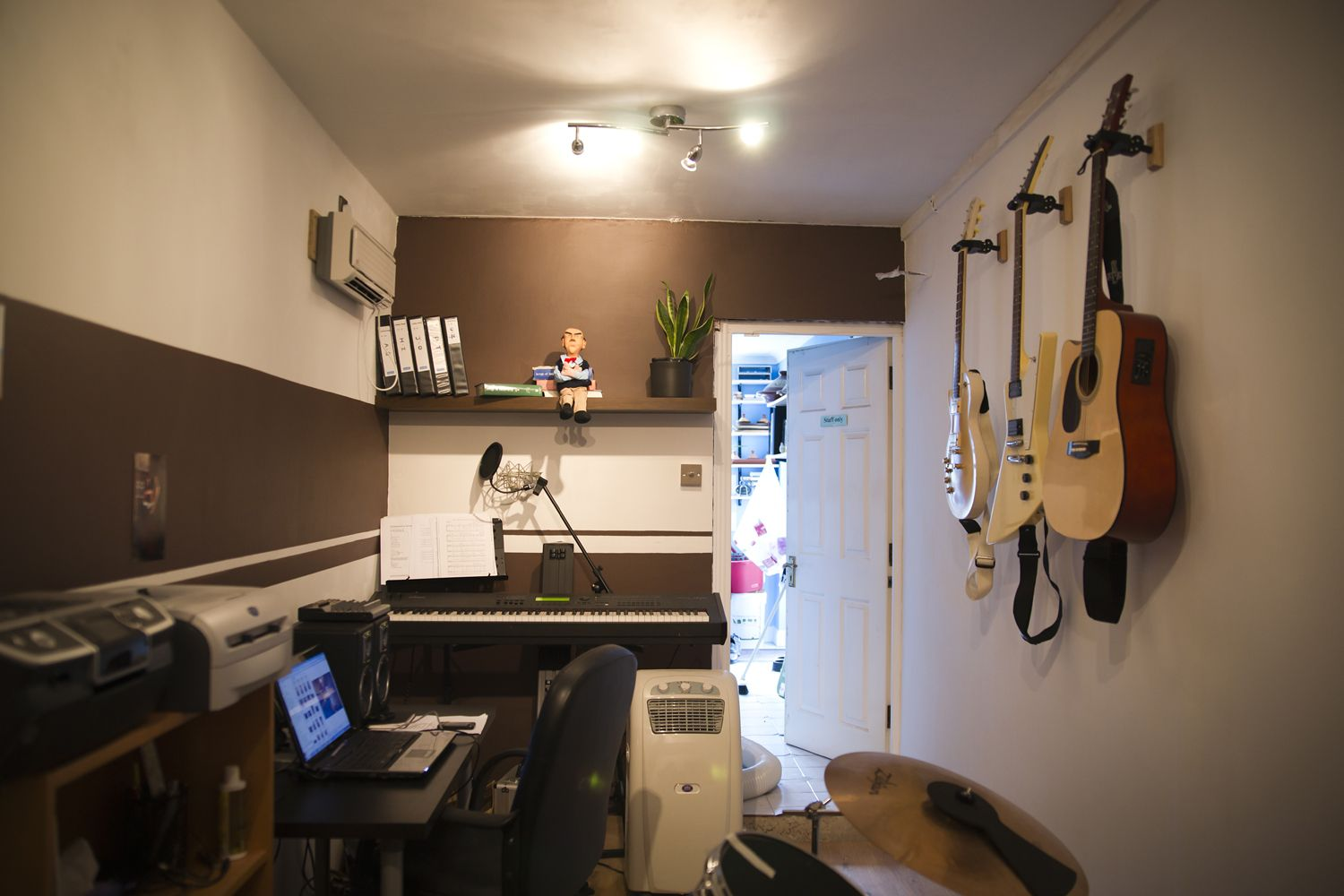 12 Garage To Office Music Room Conversion Done Home Studio