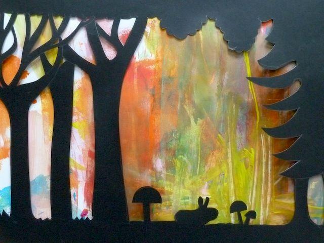 Hervorragend Atelier de peinture avec les enfants sur Aix-en-Provence : Ombres  HO92