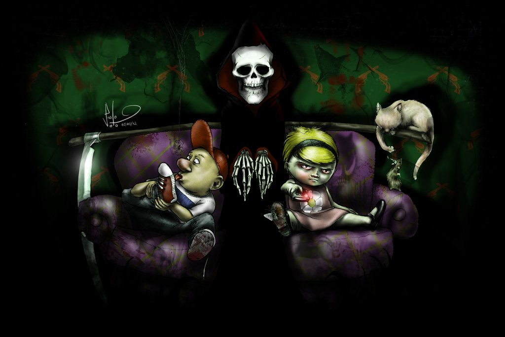 The Grim Adventures Of Billy And Mandy Real Life By 0nesto