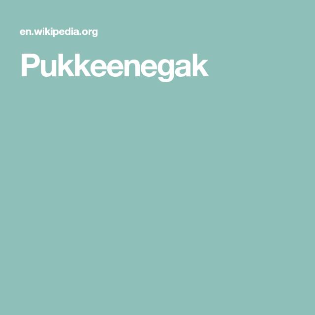 Pukkeenegak | Inupiaq Me!