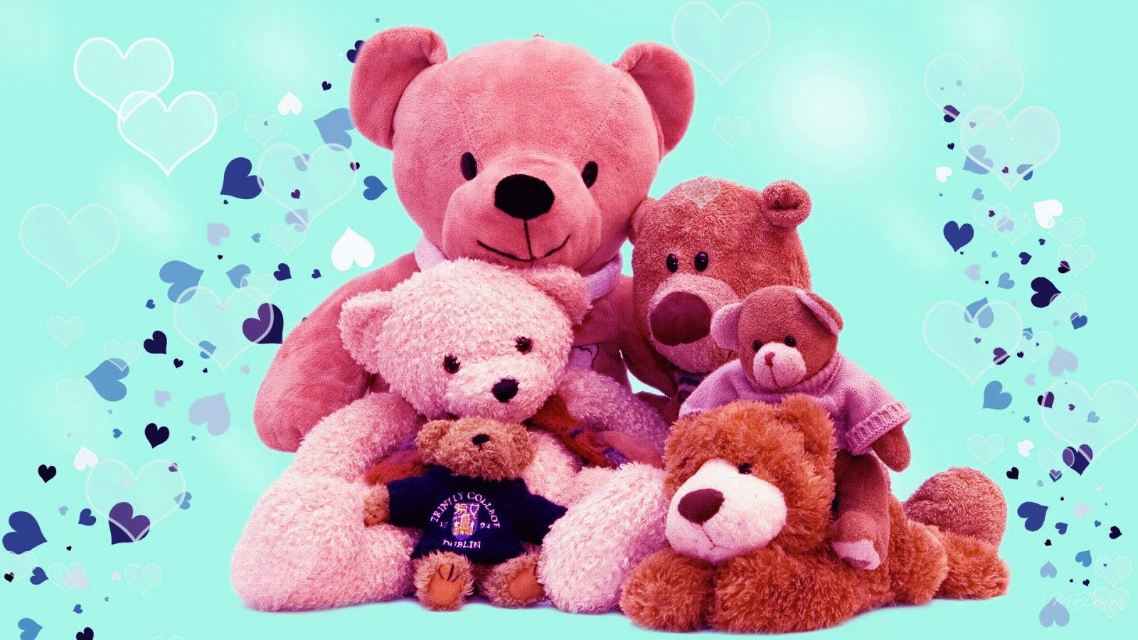 Leave It Once It Ll Will Be Left Forever Get It Once It Ll Be Yours Forever It S Nothing But Love Love O Teddy Day Wallpapers Teddy Bear Wallpaper Teddy Day