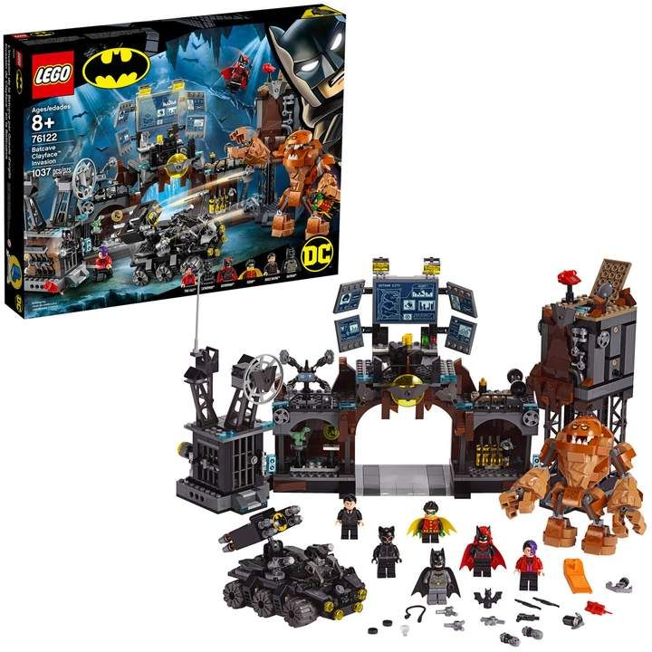 Photo of LEGO Super Heroes Batcave Clayface Invasion Set 76122