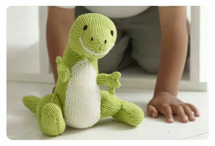 Free Dinosaur Knitting Crochet Patterns Crochet Pinterest