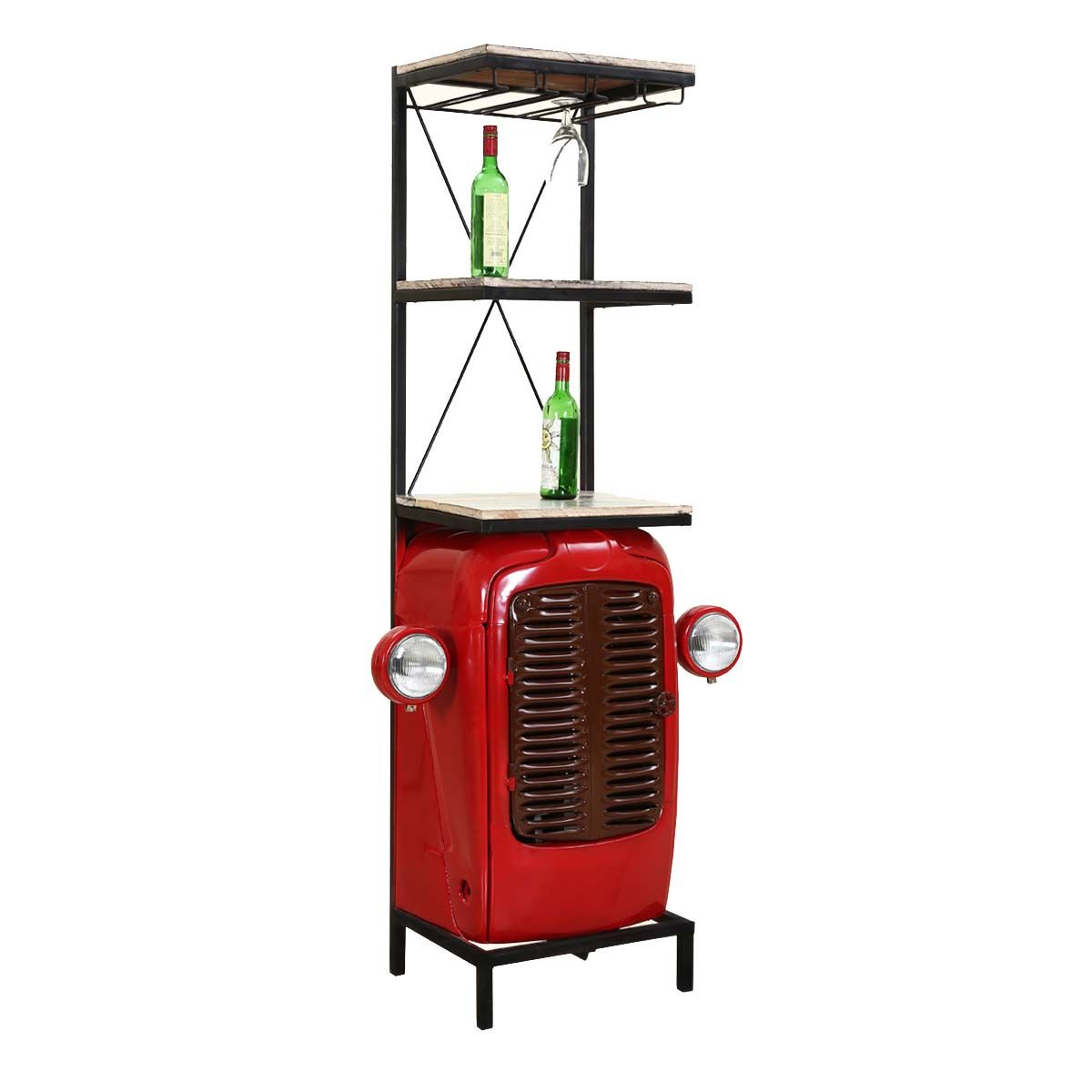 Wisconsin Tractor Grill With Headlights Wine Storage Cabinet Wine Storage Cabinets Wine Storage Wine Cabinets