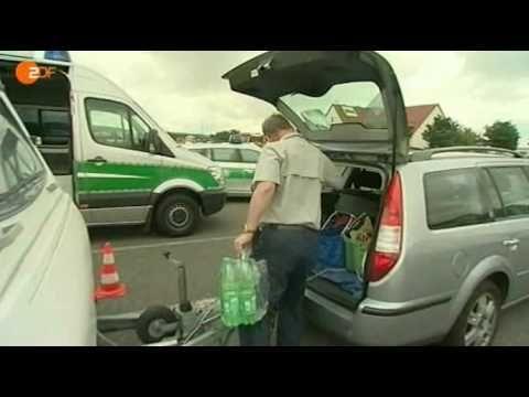 Polizei kontrolliert Wohnmobile Hallo Deutschland, 25.08