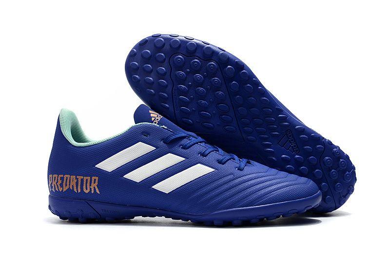 new product 39e3d ab05f Cheap Adidas Predator Tango 18.4 TF Football Boots Blue White