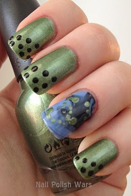 Wicked Witch Of The West Nails Nailart