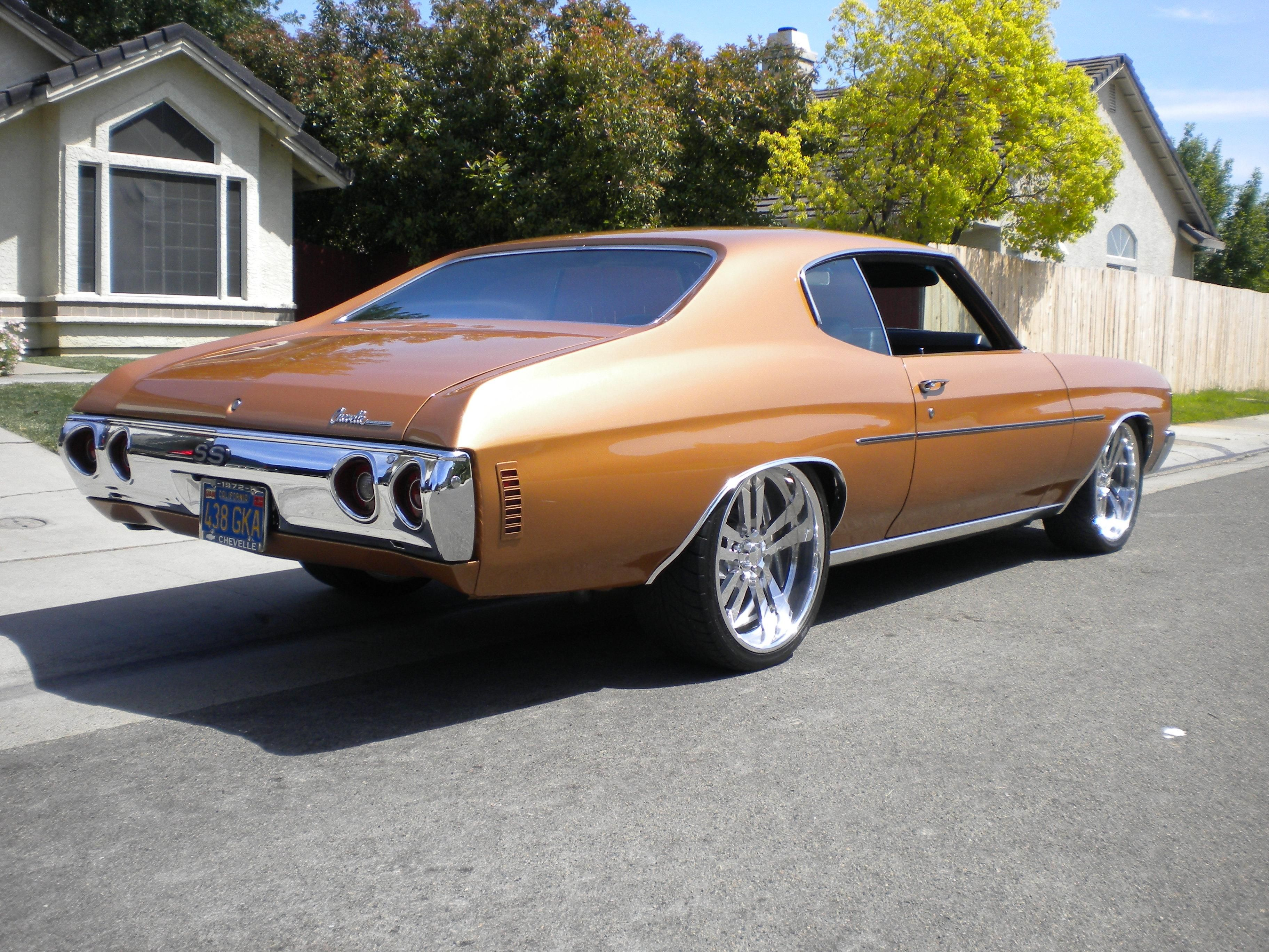 Nor cali customz s 1972 chevrolet chevelle billet wheels