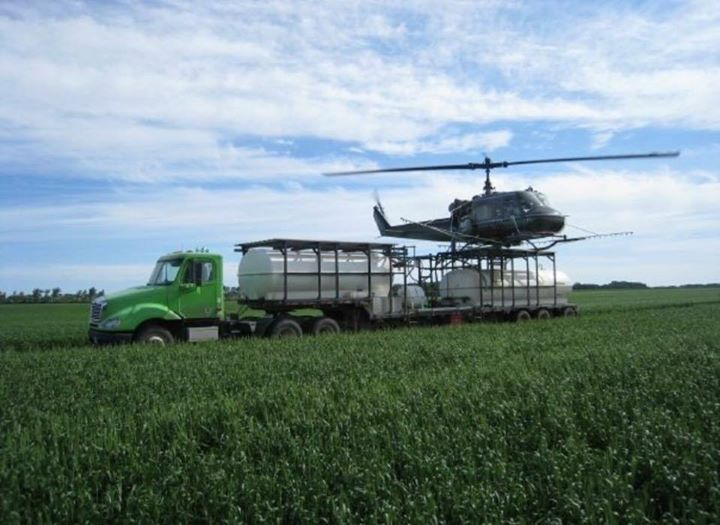 How cool is this ag job morten helicopters of larimore