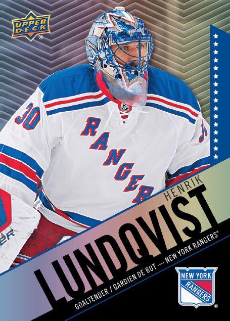 30 Henrik Lundqvist Netminders Hockey Cards Nfl Fans Henrik