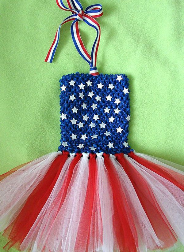 Fourth July Dresses For Girls Kids Diy 4th Of July Dresses
