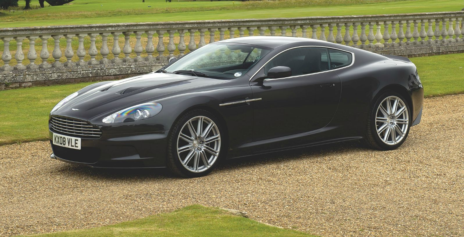 The Aston Martin Dbs Used In 2008 James Bond Film Quantum Of Solace Sold For On Friday Evening With Proceeds From Going To British