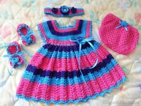Cizgi Desenli Tig Isi Bebek Elbise Modeli Tig Isi Bebek Elbiseleri Kiz Bebek Tig Bebek Elbisesi