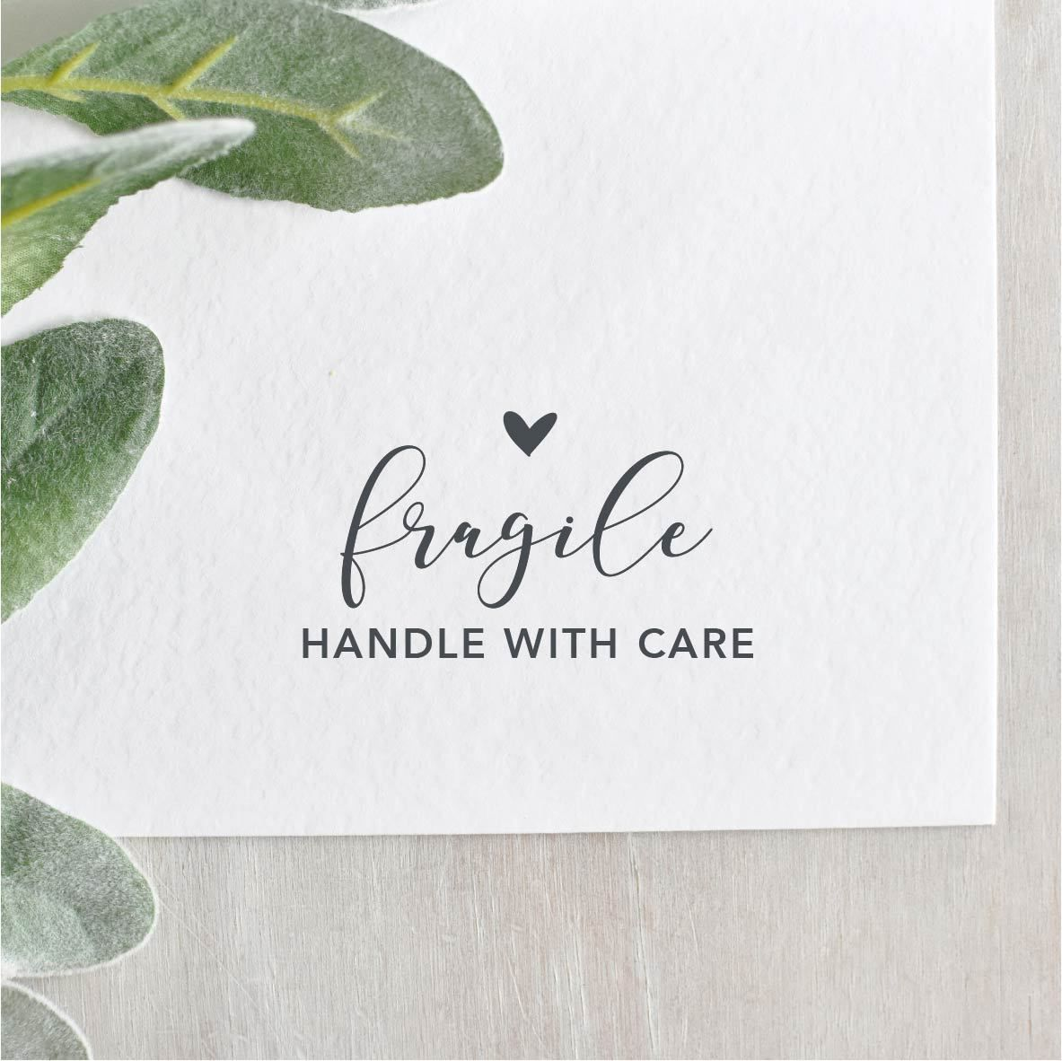 Fragile Handle With Care Stamp