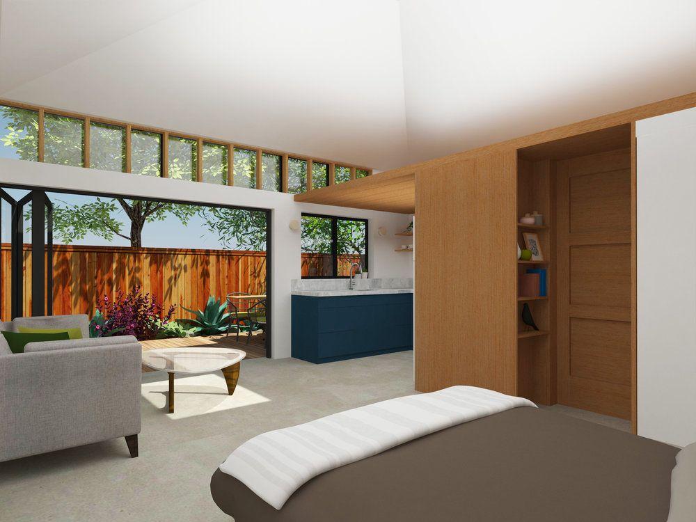 Vaulted Ceiling Potential Loft Area Garage Studio Studio Floor Plans Accessory Dwelling Unit