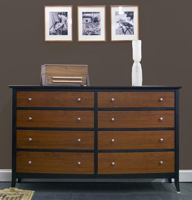 Colores de paredes con muebles oscuros muebles de madera - Pared marron chocolate ...