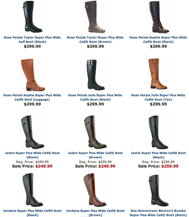 Widewidths Com Super Plus Wide Width Calf Boots Shoes Pinterest