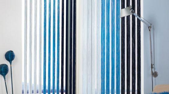 fadenvorhang als fensterdekoration raumteiler und sichtschutz. Black Bedroom Furniture Sets. Home Design Ideas