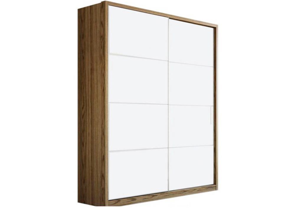 A wardrobe with 2 sliding door helps in fitting essentials into it. You can arrange  sc 1 st  Pinterest & A wardrobe with 2 sliding door helps in fitting essentials into it ... pezcame.com
