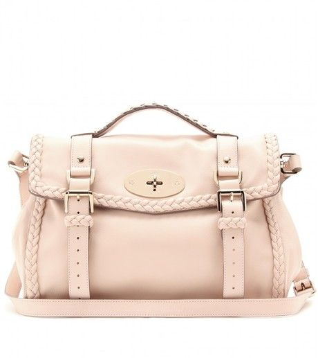 6cf41846afdb Mulberry Woven Leather Bag - Lyst