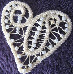 Variante....tutorial in another language;but if you know point lace you can figure out from pictures!
