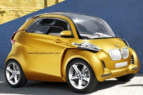 Ever wondered how a modern Isetta would look like if BMW