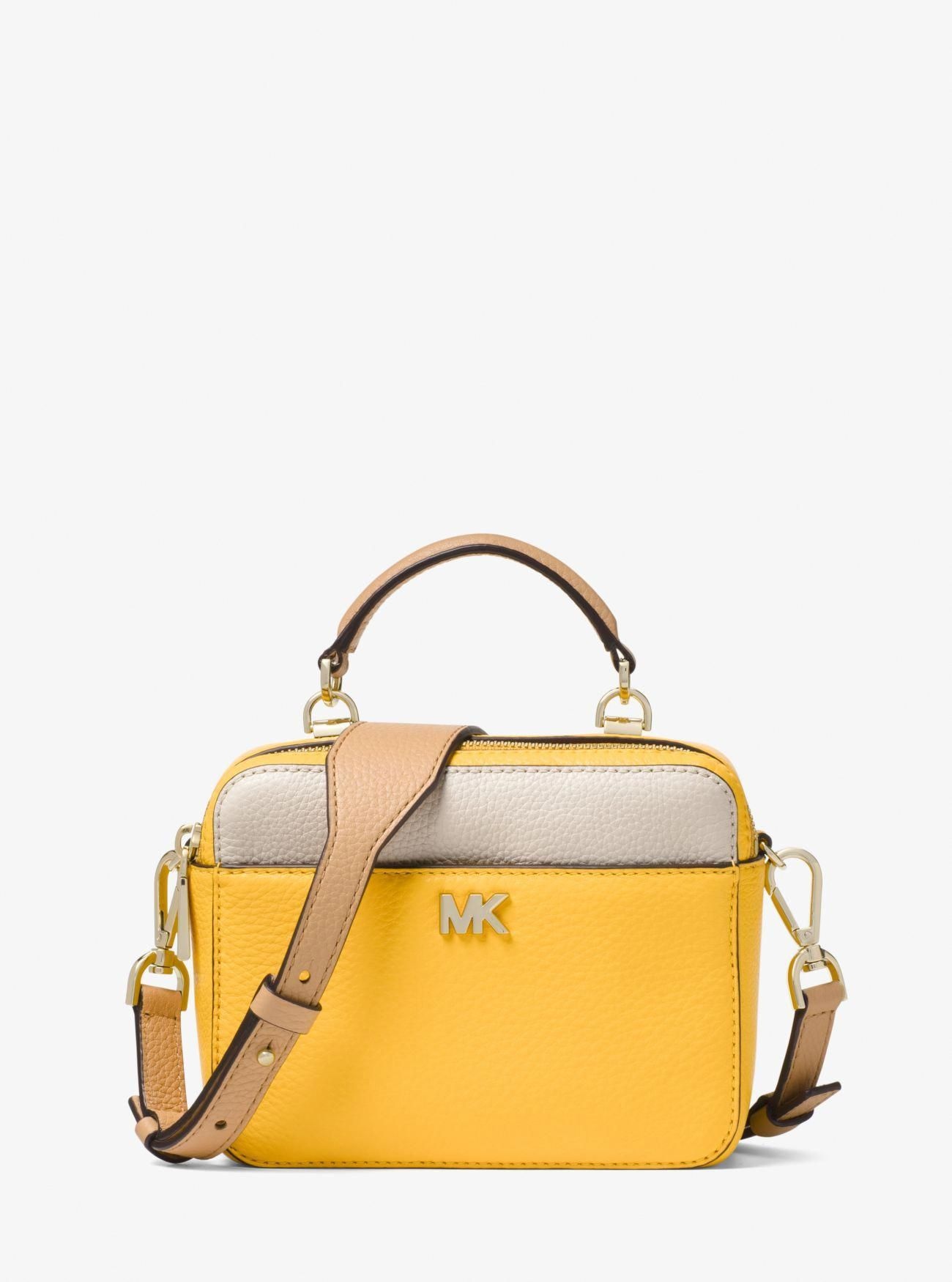 c582689c9e51 Mott Mini Color-Block Pebbled Leather Crossbody #WomensShoulderbags ...