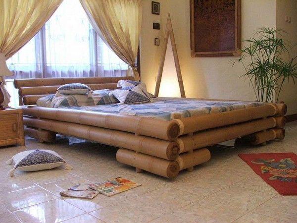 A Stylish Bamboo Bed Slaapkamer Meubels Meubel Ideeen Bamboe