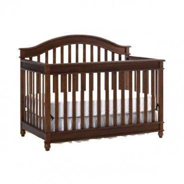 Europa Baby Palisades Convertible Crib Natural Cherry