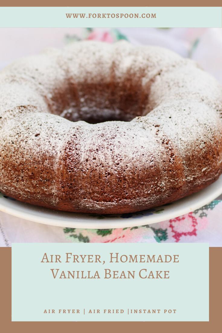 Pin on Air Fryer, Cake*